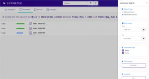 a screenshot of SCRIBZEE online